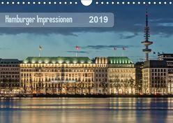 Hamburger Impressionen 2019 (Wandkalender 2019 DIN A4 quer) von Kolfenbach,  Klaus