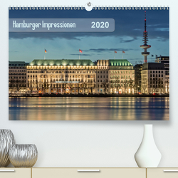 Hamburger Impressionen 2020 (Premium, hochwertiger DIN A2 Wandkalender 2020, Kunstdruck in Hochglanz) von Kolfenbach,  Klaus