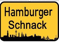 Hamburger Schnack (Wandkalender 2018 DIN A3 quer) von Daus,  Christine