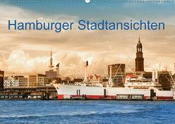 Hamburger Stadtansichten (Wandkalender 2018 DIN A2 quer) von Steiner,  Carmen