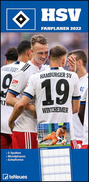 Hamburger SV 2022 – Fanplaner – Fußball-Kalender – Fan-Kalender – 22×45 – Sport
