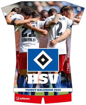 Hamburger SV 2022 – Trikotkalender – Fußball-Kalender – Fan-Kalender – 34,1×42
