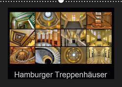Hamburger Treppenhäuser (Wandkalender 2019 DIN A3 quer) von Hasche,  Joachim