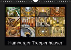 Hamburger Treppenhäuser (Wandkalender 2019 DIN A4 quer) von Hasche,  Joachim
