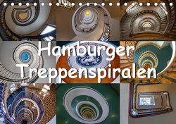 Hamburger Treppenspiralen (Tischkalender 2021 DIN A5 quer) von Salomo & Thomas Becker,  Annick