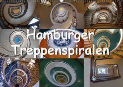 Hamburger Treppenspiralen (Wandkalender 2019 DIN A2 quer) von Salomo & Thomas Becker,  Annick