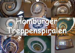 Hamburger Treppenspiralen (Wandkalender 2019 DIN A3 quer) von Salomo & Thomas Becker,  Annick