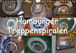 Hamburger Treppenspiralen (Wandkalender 2019 DIN A4 quer) von Salomo & Thomas Becker,  Annick