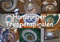 Hamburger Treppenspiralen (Wandkalender 2020 DIN A2 quer) von Salomo & Thomas Becker,  Annick