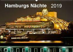 Hamburgs Nächte (Wandkalender 2019 DIN A2 quer) von Heymanns,  Rolf