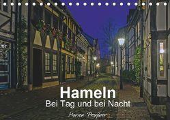 Hameln bei Tag und bei Nacht (Tischkalender 2019 DIN A5 quer) von Peußner,  Marion