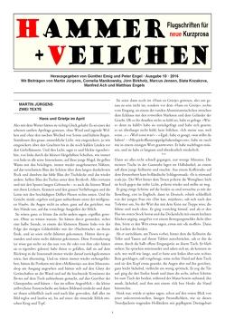 Hammer + Veilchen Nr. 10 von Emig,  Günther, Engel,  Peter