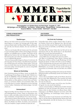Hammer + Veilchen Nr. 13 von Emig,  Günther, Engel,  Peter