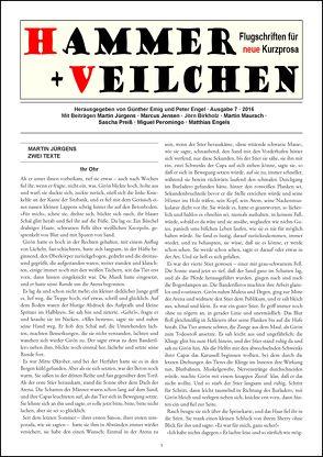 Hammer + Veilchen Nr. 7 von Emig,  Günther, Engel,  Peter