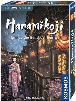 Hanamikoji – Erringe die Gunst der Geishas von Nakayama,  Kota