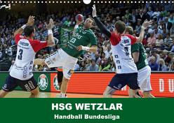 Handball Bundesliga – HSG Wetzlar (Wandkalender 2020 DIN A3 quer) von Oliver Vogler,  Sportfoto