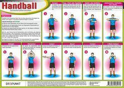 Handball Schiedsrichterzeichen von Schulze,  Michael