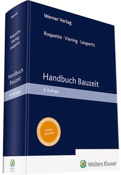 Handbuch Bauzeit von Leupertz, Roquette, Viering