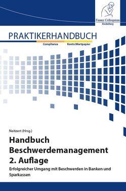 Handbuch Beschwerdemanagement von Neitzert,  Anette