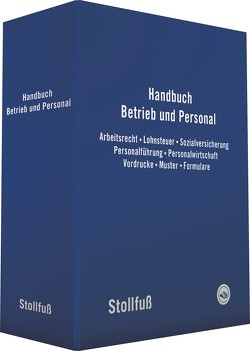 Handbuch Betrieb und Personal von Besgen,  Nicolai, Imping,  Andreas, Lorenz,  Martin
