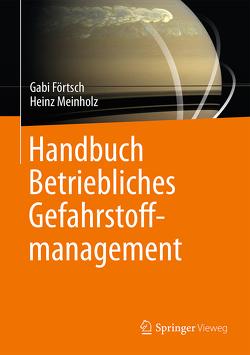 Handbuch Betriebliches Gefahrstoffmanagement von Förtsch,  Gabi, Meinholz,  Heinz