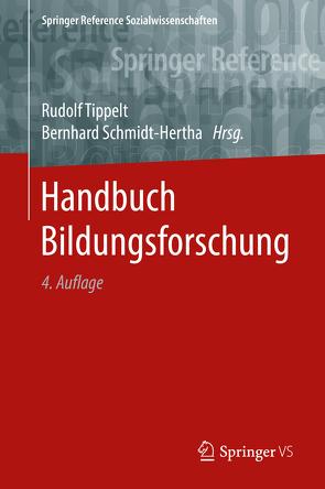 Handbuch Bildungsforschung von Schmidt-Hertha,  Bernhard, Tippelt,  Rudolf