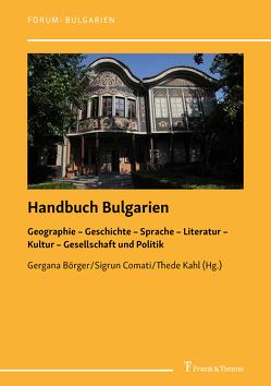 Handbuch Bulgarien von Börger,  Gergana, Comati,  Sigrun, Dimitrova,  Tanya, Kahl,  Thede