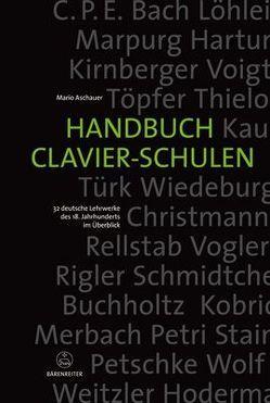 Handbuch Clavier-Schulen von Aschauer,  Mario