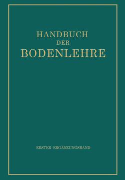 Handbuch der Bodenlehre von Blanck,  E.