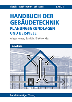 Handbuch der Gebäudetechnik – Planungsgrundlagen und Beispiele von Pistohl,  Wolfram, Rechenauer,  Christian, Scheuerer,  Birgit