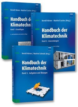 Handbuch der Klimatechnik (Set) von Casties,  Manfred, Hörner,  Berndt, Schmidt,  Manfred