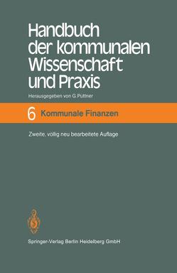 Handbuch der kommunalen Wissenschaft und Praxis von Püttner,  Günter
