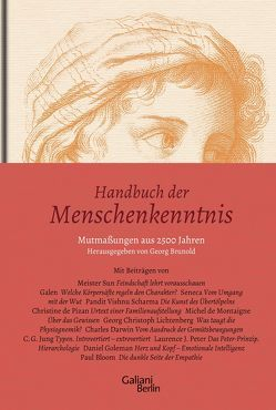 Handbuch der Menschenkenntnis von Georg Brunold & Partner GmbH,  Arosa