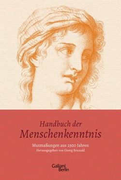 Handbuch der Menschenkenntnis von Brunold,  Georg