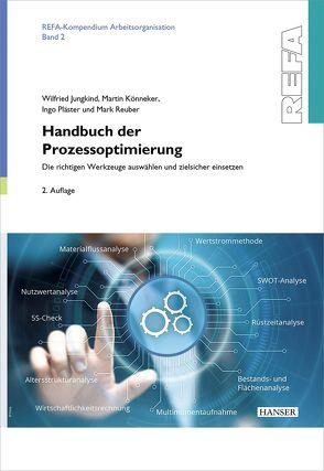 Handbuch der Prozessoptimierung von Jungkind,  Wilfried, Könneker,  Martin, Pläster,  Ingo, Reuber,  Mark