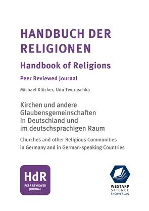 Handbuch der Religionen/ Handbook of Religions/ Hauptwerk von Klöcker,  Michael, Tworuschka,  Udo
