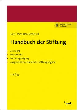 Handbuch der Stiftung von Götz,  Hellmut, Pach-Hanssenheimb,  Ferdinand