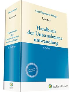 Handbuch der Unternehmensumwandlung von Limmer,  Peter