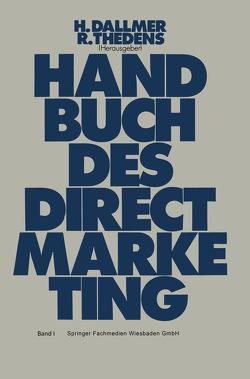 Handbuch des Direct-Marketing von Dallmer,  Heinz