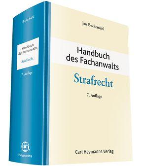 Handbuch des Fachanwalts Strafrecht von Bockemühl,  Jan
