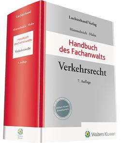 Handbuch des Fachanwalts Verkehrsrecht von Halm,  Wolfgang E., Himmelreich,  Klaus