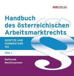 Handbuch des österreichischen Arbeitsmarktrechts von Potmesil,  Stefan