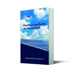 Handbuch des Rechts der Photovoltaik von Maslaton,  Martin