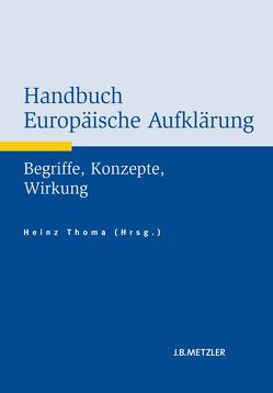 Handbuch Europäische Aufklärung von Thoma,  Heinz