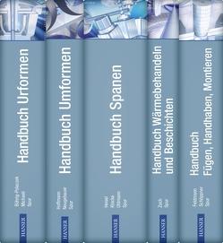 Handbuch Fertigungstechnik in 5 Bänden von Bührig-Polaczek,  Andreas, Feldmann,  Klaus, Heisel,  Uwe, Hoffmann,  Hartmut, Klocke,  Fritz, Michaeli,  Walter, Neugebauer,  Reimund, Schoeppner,  Volker, Spur,  Günter, Uhlmann,  Eckart, Zoch,  Hans-Werner