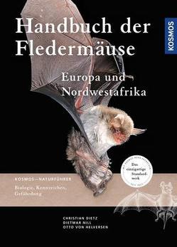 Handbuch Fledermäuse Europas und Nordwestafrikas von Dietz,  Christian, Kiefer,  Andreas, Nill,  Dietmar