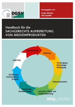 Handbuch für die sachgerechte Aufbereitung von Medizinprodukten von Wismer,  Guido, Zanette,  Toni