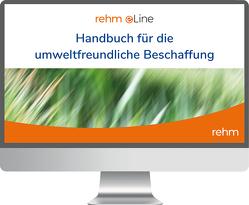 Handbuch für die Umweltfreundliche Beschaffung online von Altus,  Dietmar, Ley,  Rudolf, Wankmüller,  Michael