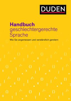Handbuch geschlechtergerechte Sprache von Diewald,  Gabriele, Dudenredaktion