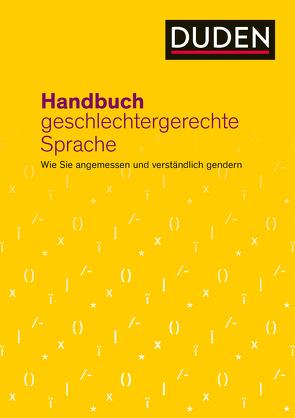 Handbuch geschlechtergerechte Sprache